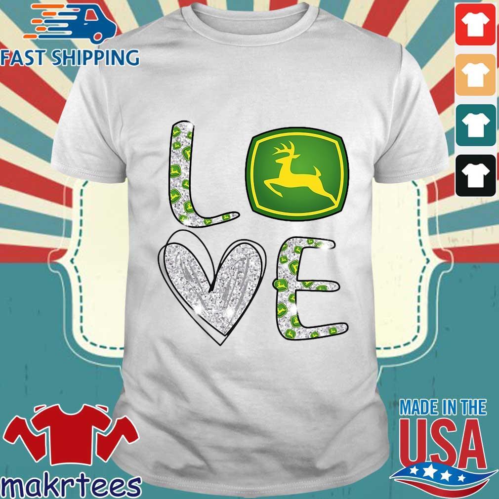Love John Deere Diamond Shirt
