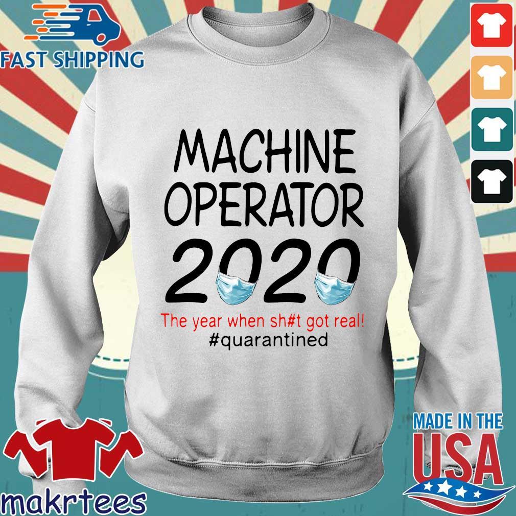 Machine Operator 2020 Quarantined Shirt Sweater trang