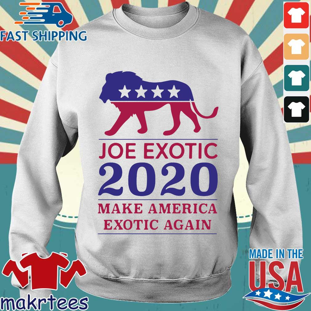Make America Exotic Again Joe Exotic 2020 Us Shirt Sweater trang