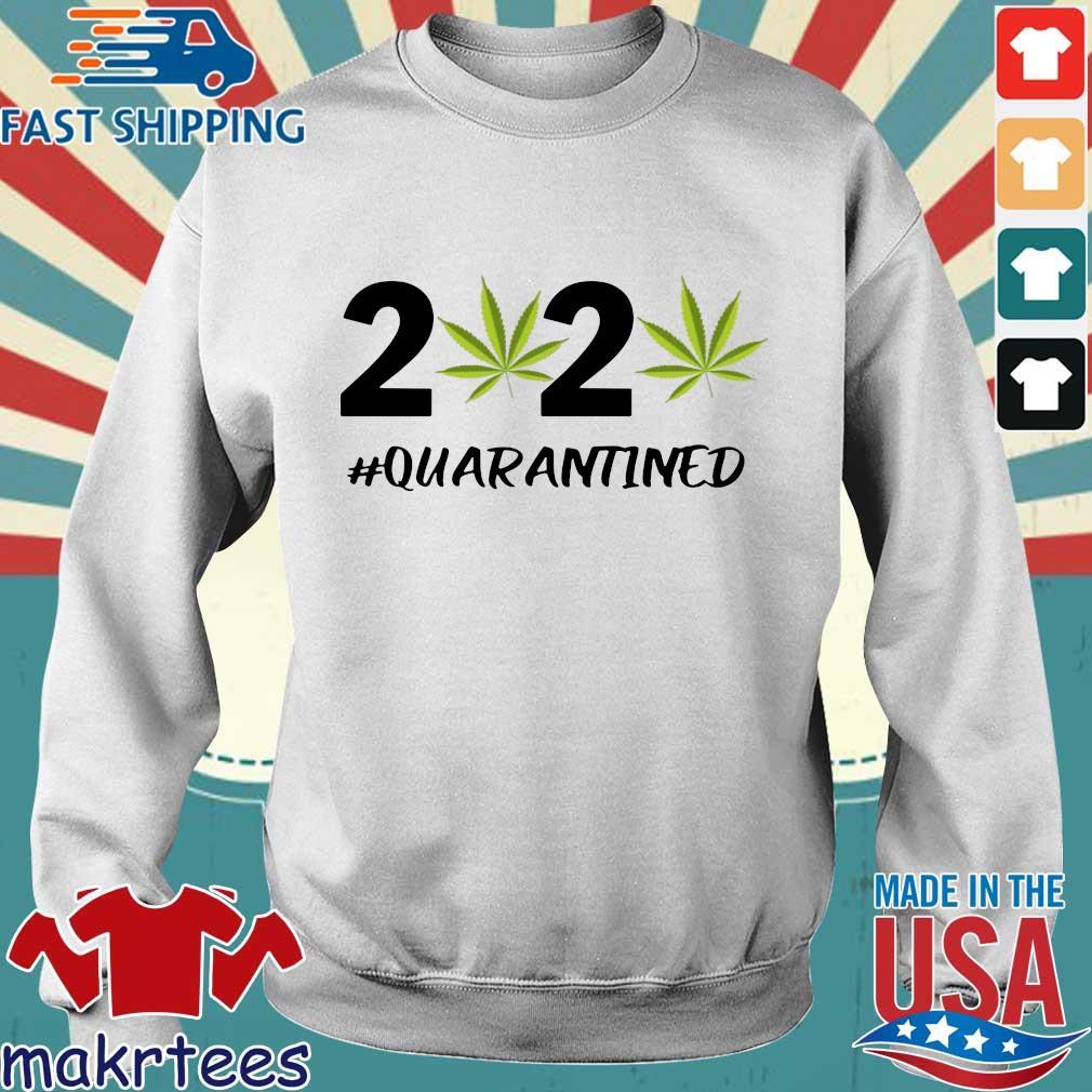 Marijuana 2020 #quarantine Shirt Sweater trang