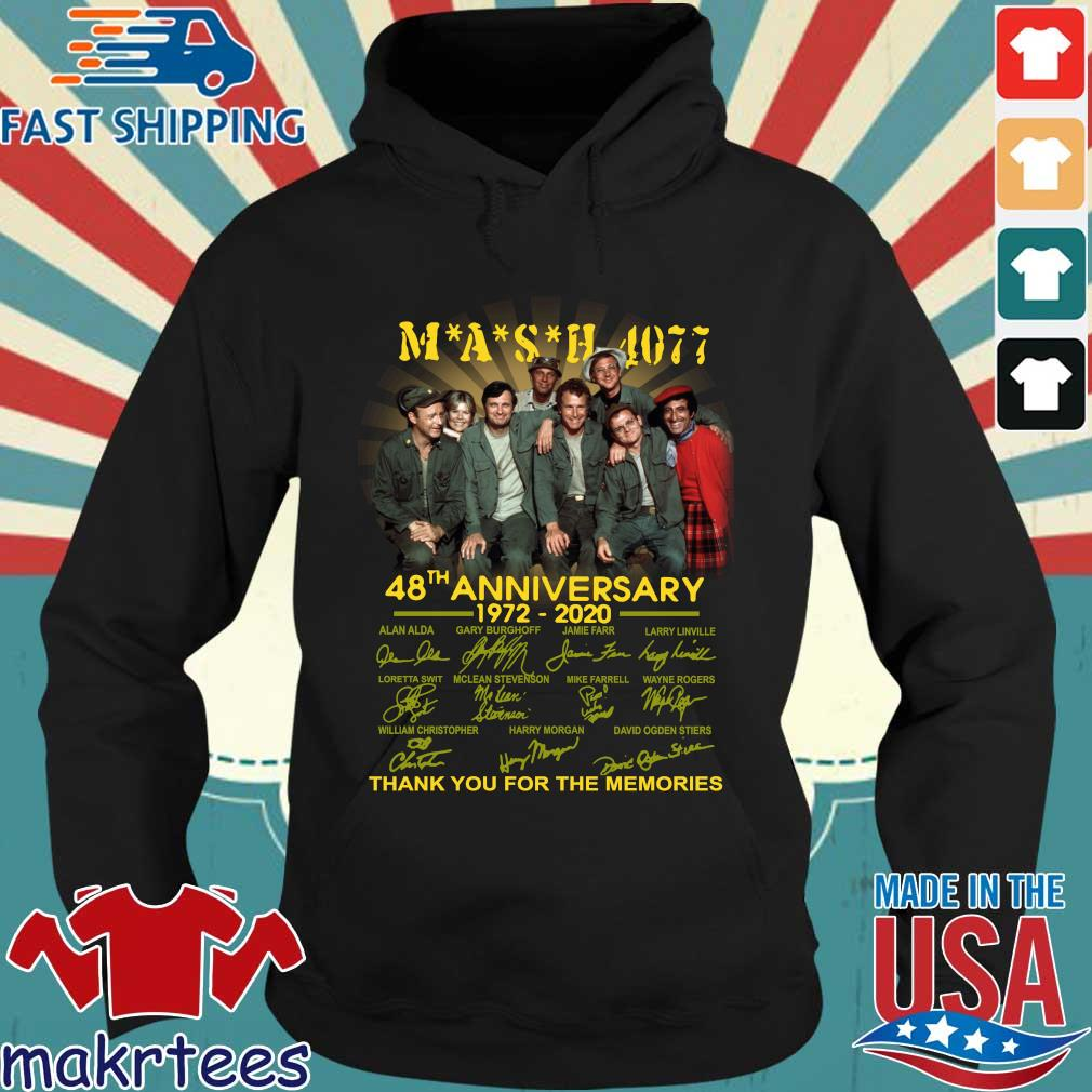 Mash Tv Show 4077 48th Anniversary 1972 – 2020 Thank You For The Memories Shirt Hoodie den
