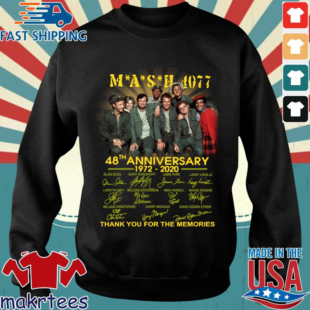 Mash Tv Show 4077 48th Anniversary 1972 – 2020 Thank You For The Memories Shirt Sweater den