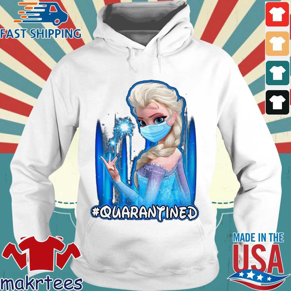 Mask Elsa #quarantined Shirt Hoodie trang
