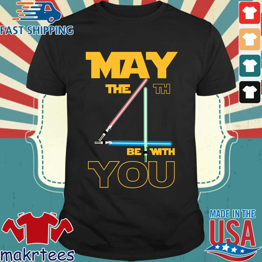 May The 4th Be With You Star Wars Shirt