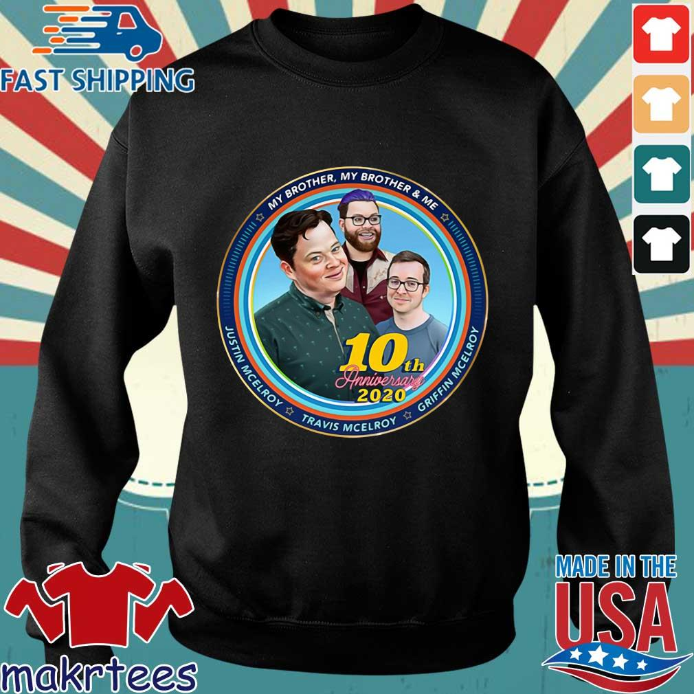 Mbmbam My Brother My Brother And Me Mcelroy 10th Anniversary Shirt Sweater den