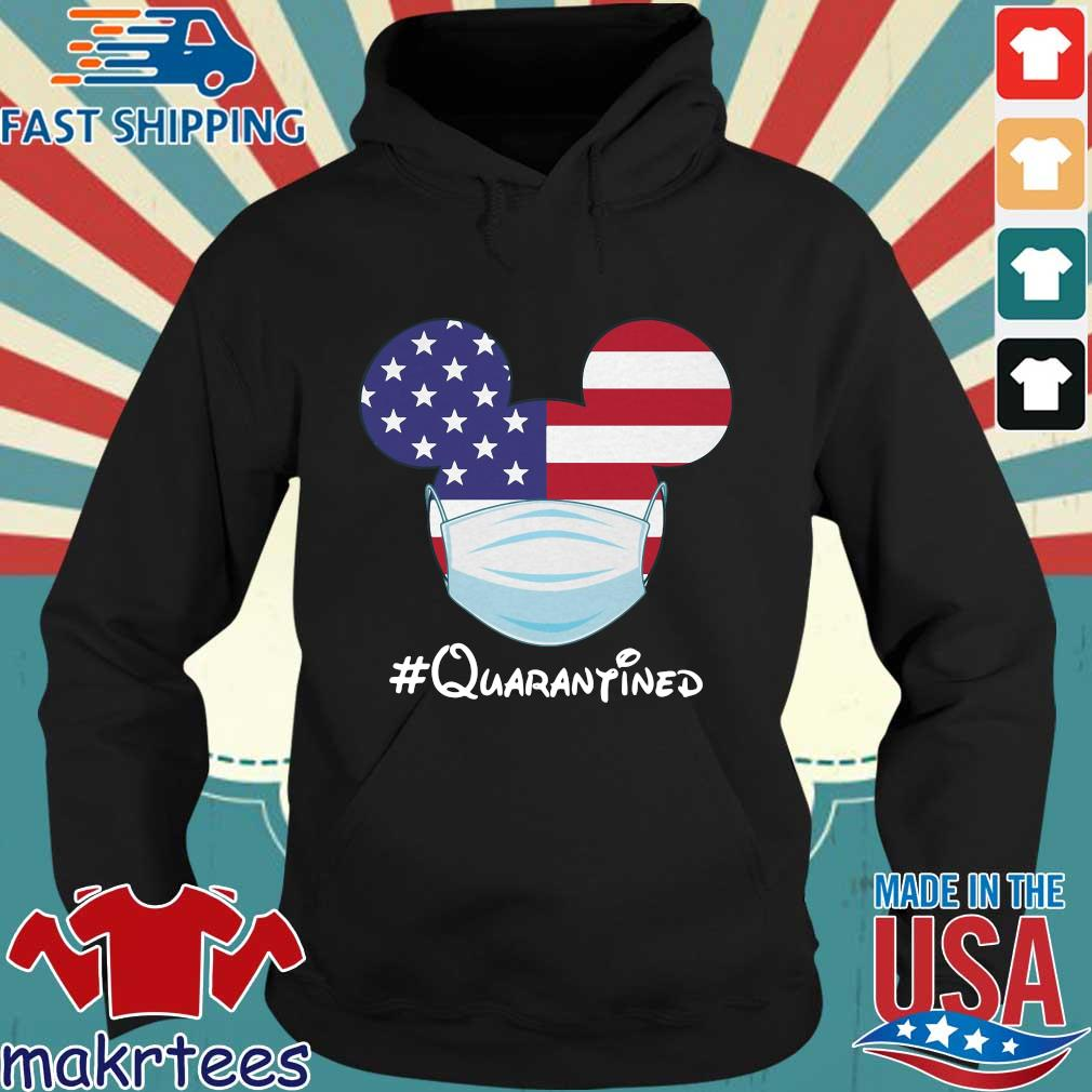 Mickey American Flag Face Mask Quarantined T-s Hoodie den