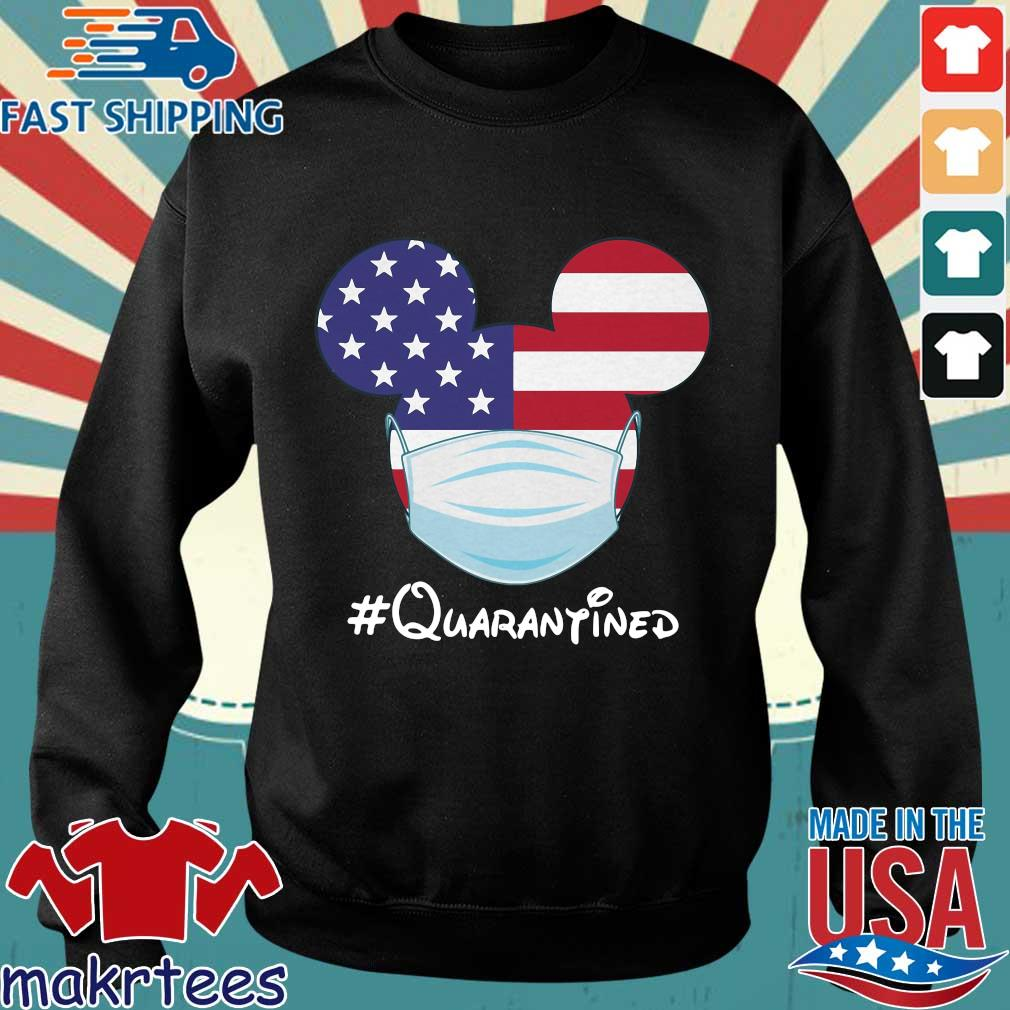 Mickey American Flag Face Mask Quarantined T-s Sweater den