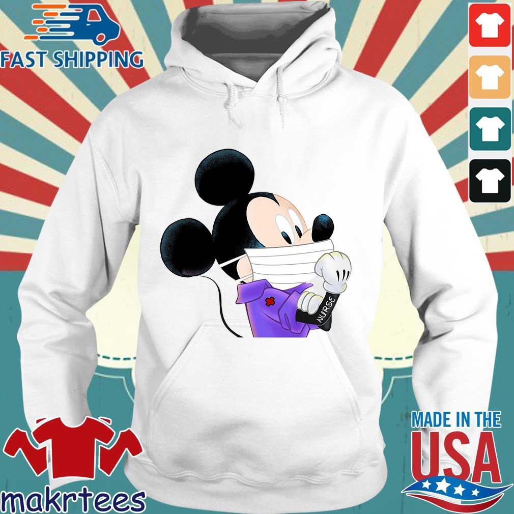 Mickey Mouse Strong Nurse Shirt Hoodie trang