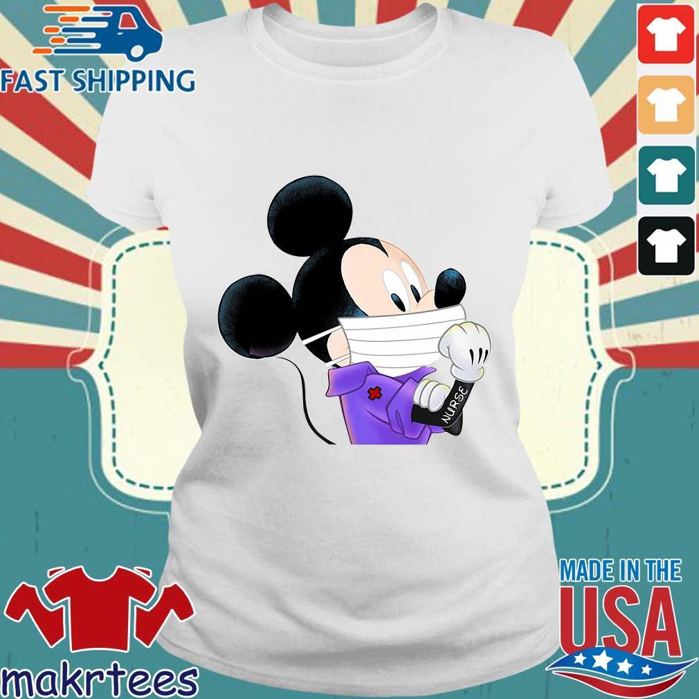 Mickey Mouse Strong Nurse Shirt Ladies trang