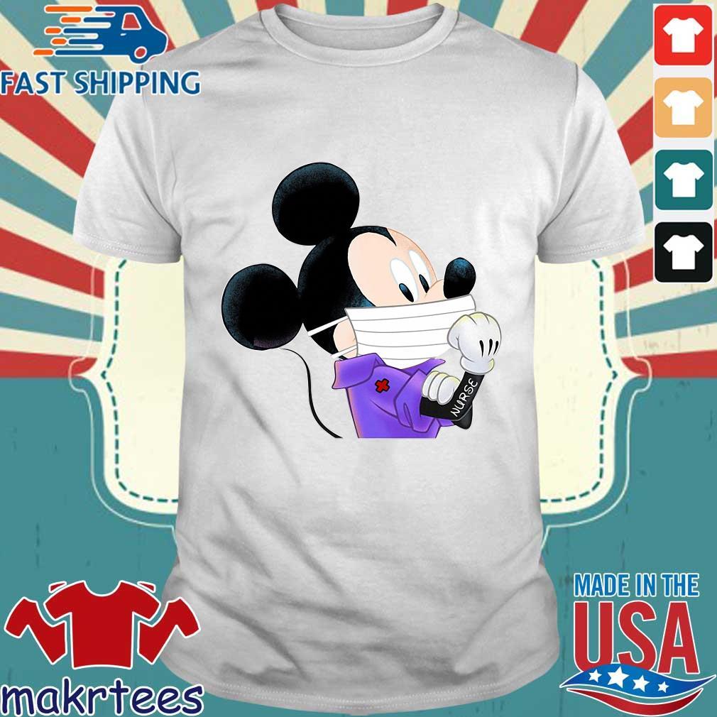 Mickey Mouse Strong Nurse Shirt