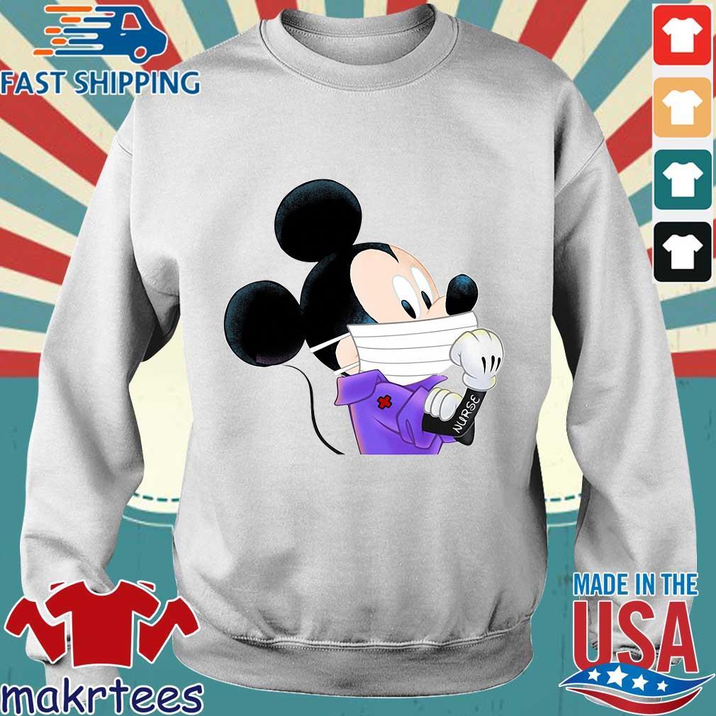 Mickey Mouse Strong Nurse Shirt Sweater trang