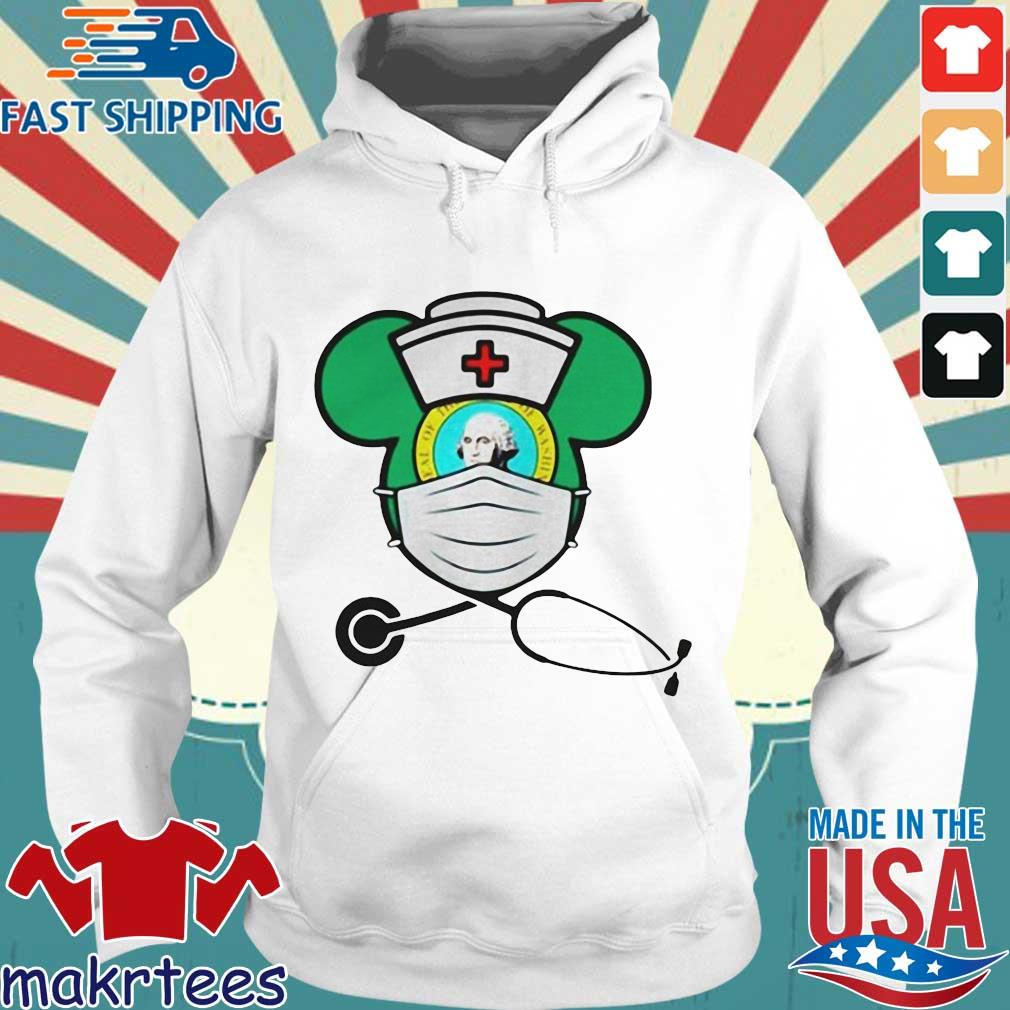 Mickey Nurse Face Mask George Washington Shirts Hoodie trang