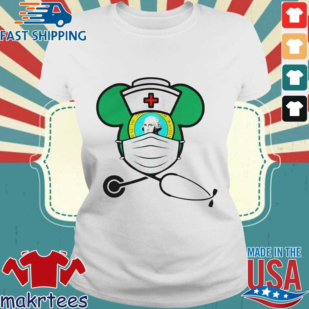 Mickey Nurse Face Mask George Washington Shirts Ladies trang