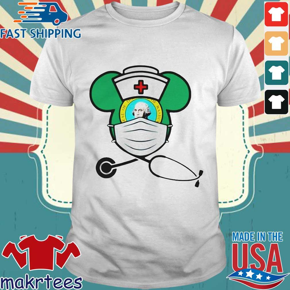 Mickey Nurse Face Mask George Washington Shirts
