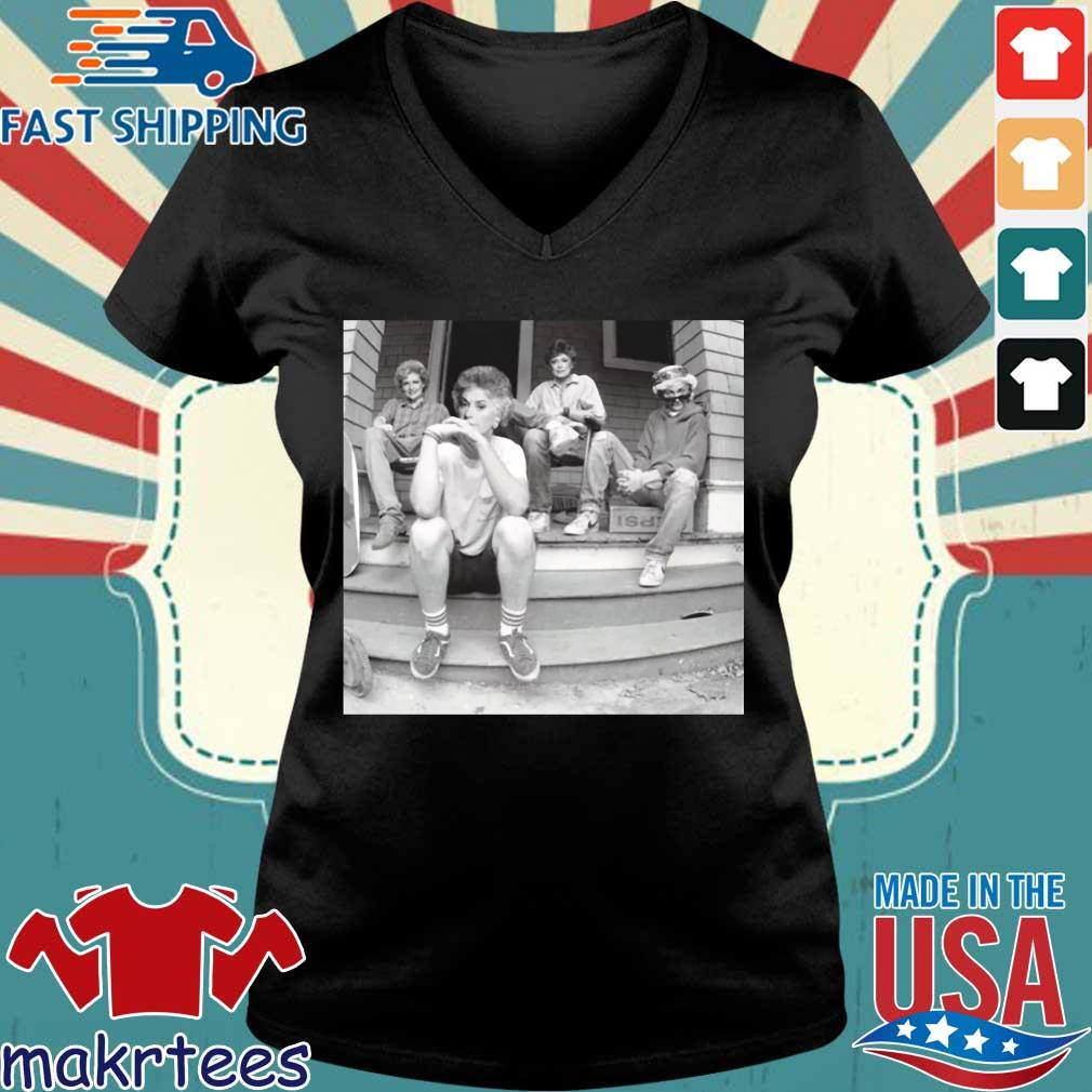 Minor Threat Ep Cover Golden Girls Shirt Ladies V-neck den