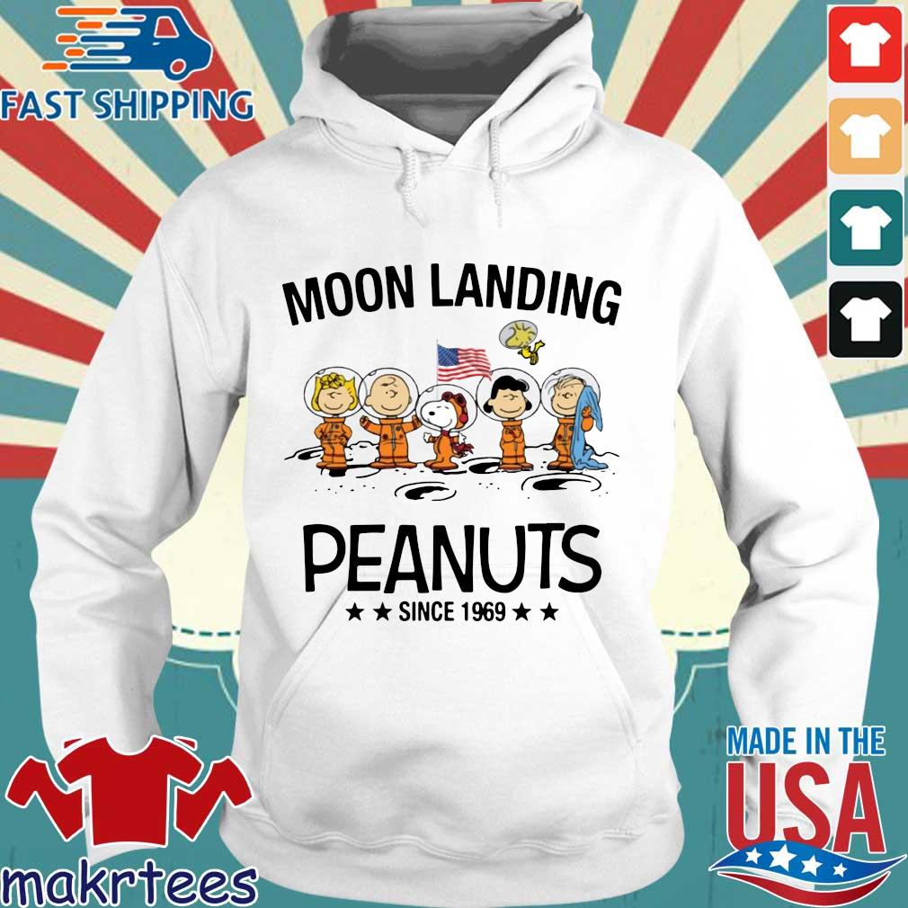 Moon Landing Peanuts Since 1969 Tee Shirts Hoodie trang
