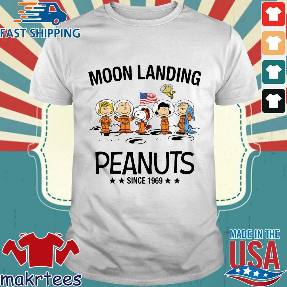 Moon Landing Peanuts Since 1969 Tee Shirts