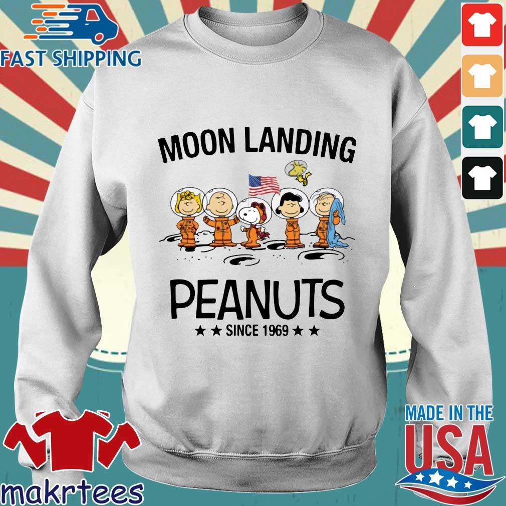 Moon Landing Peanuts Since 1969 Tee Shirts Sweater trang