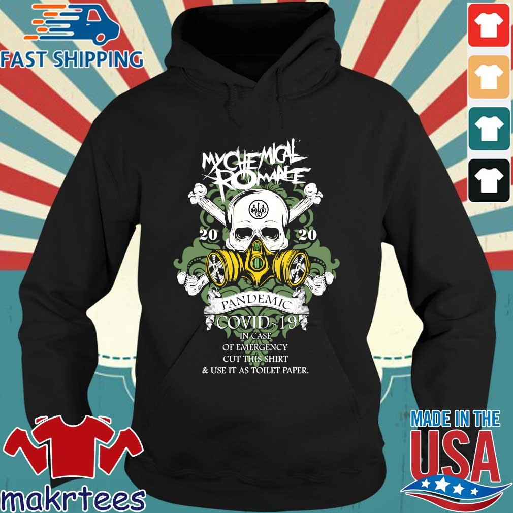 My Chemical Romance 2020 Pandemic In Case Of Emergency Shirt Hoodie den