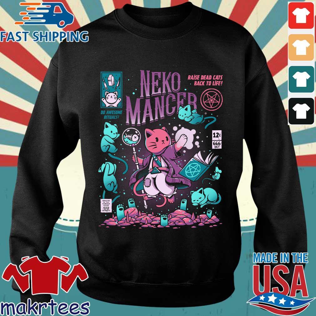 Neko Mancer Raise Dead Cats Back To Life Shirt Sweater den