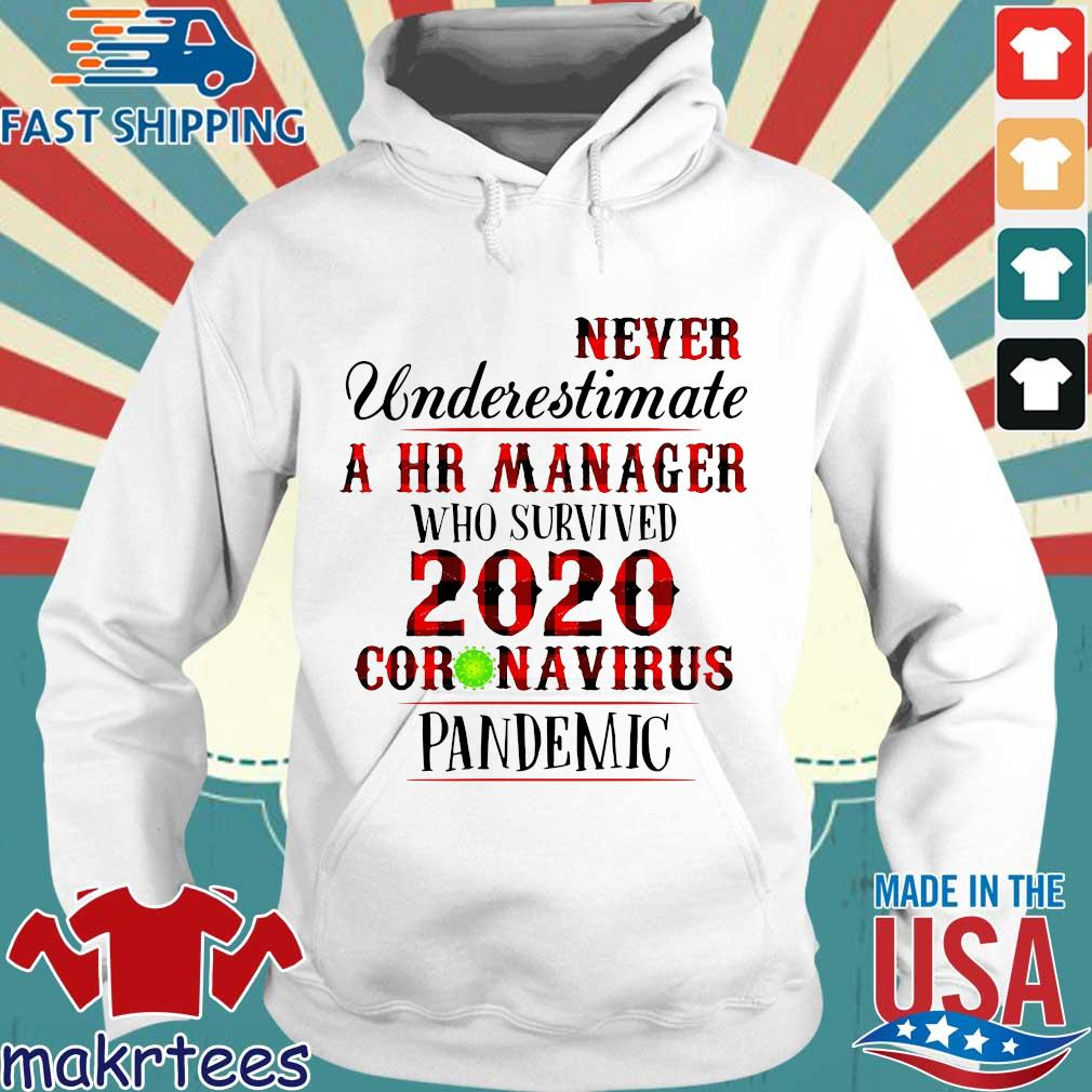 Never Underestimate A Hr Manager Who Survived 2020 Pandemic Shirt Hoodie trang