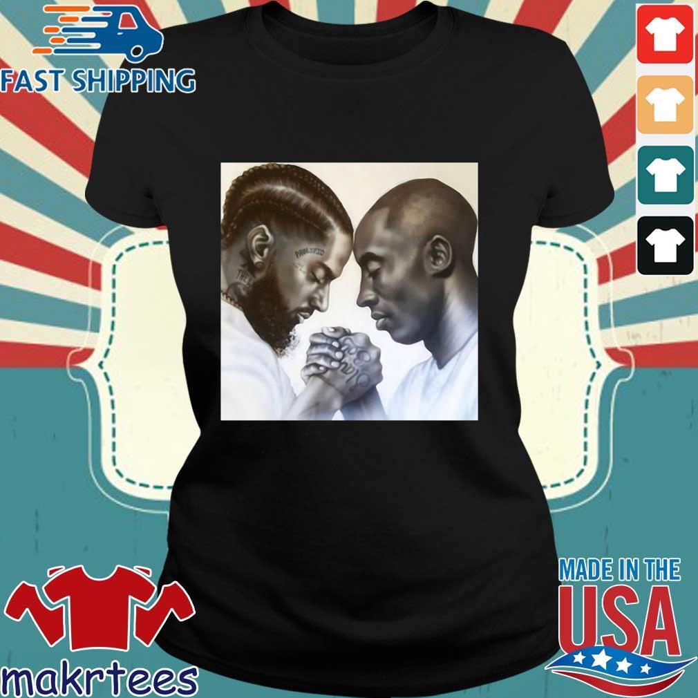 Nipsey Hussle And Kobe Bryant Forever Shirt Ladies den