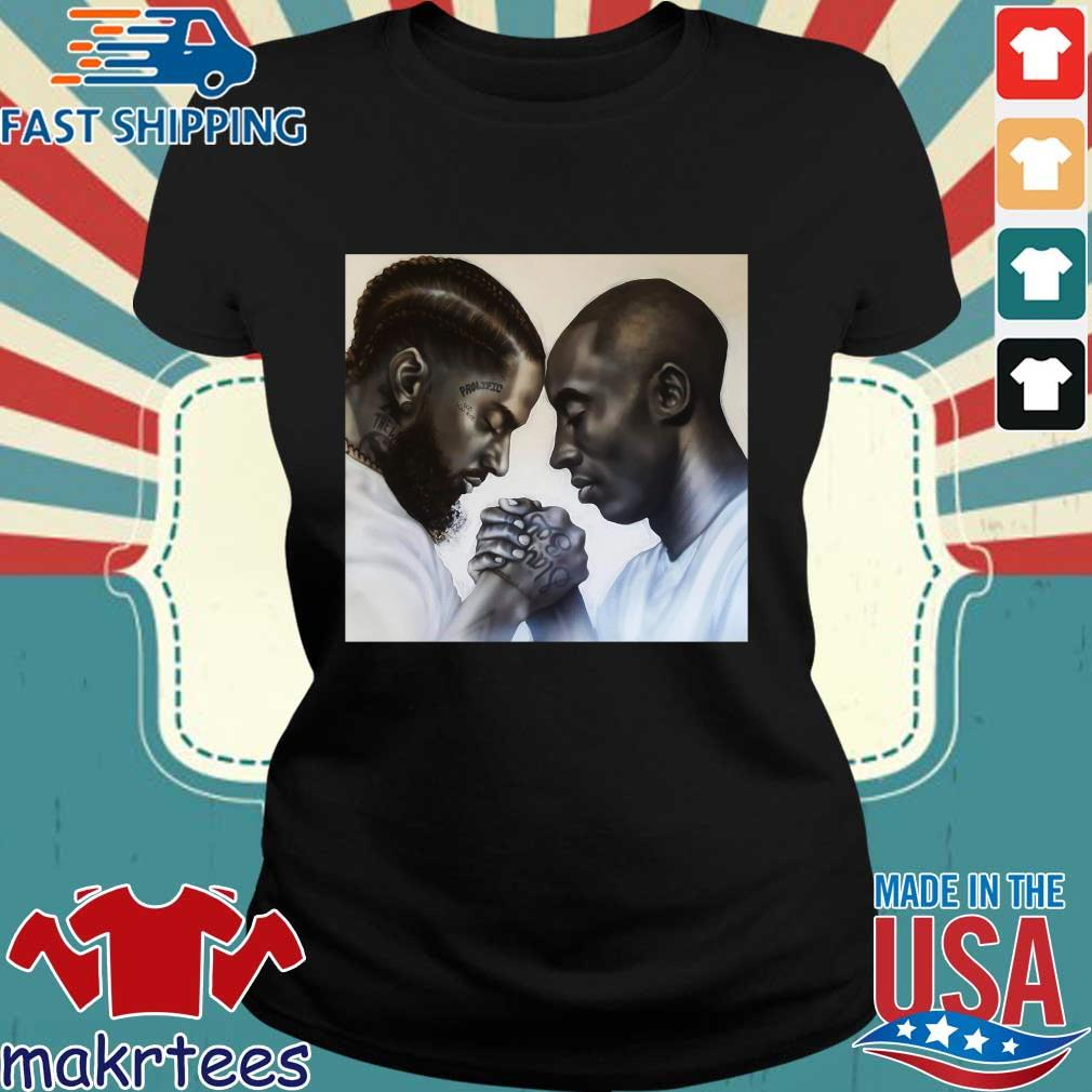 Nipsey Hussle And Kobe Bryant Forever T-Shirts Ladies den
