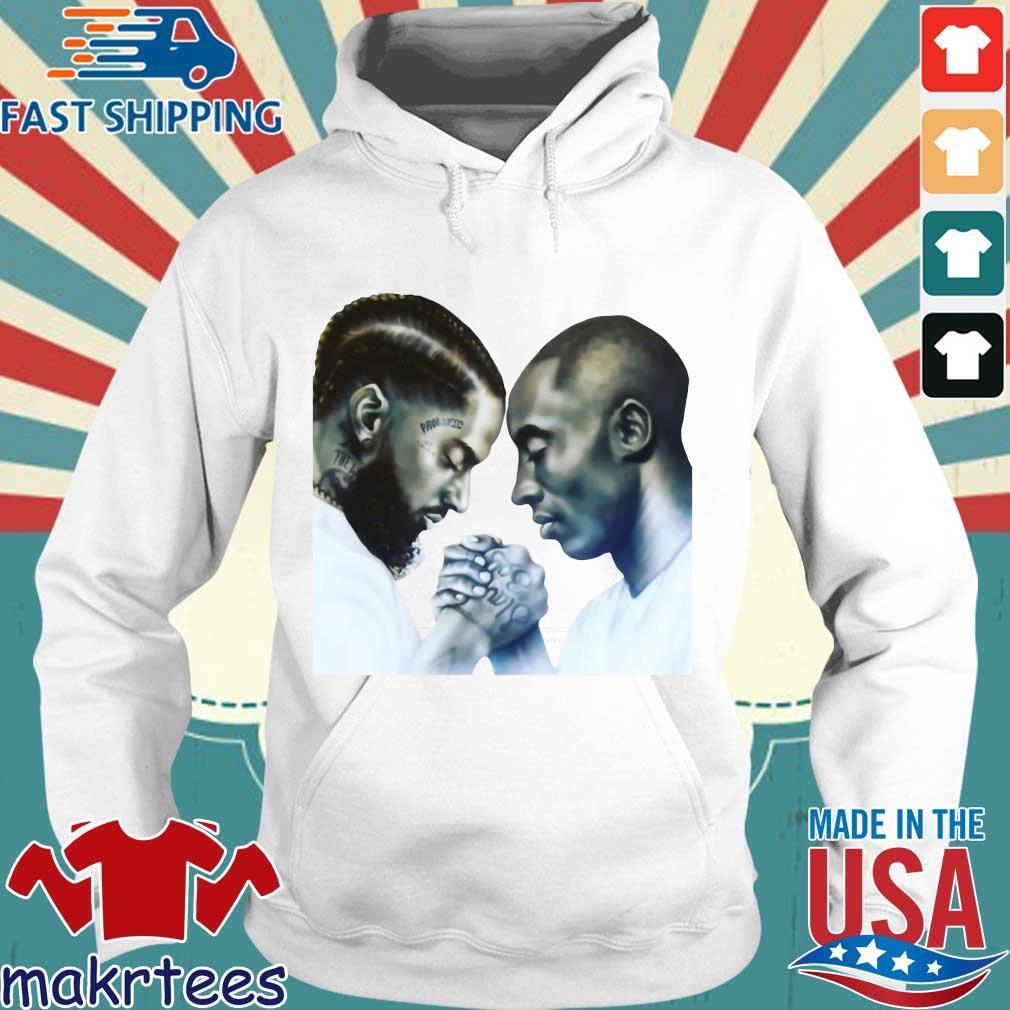 Nipsey Hussle And Kobe Bryant T-Shirt Hoodie trang