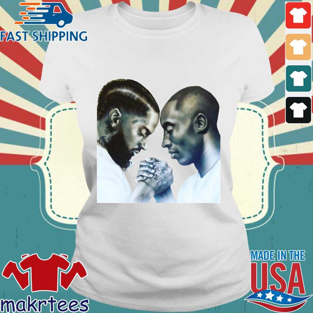 Nipsey Hussle And Kobe Bryant T-Shirt Ladies trang