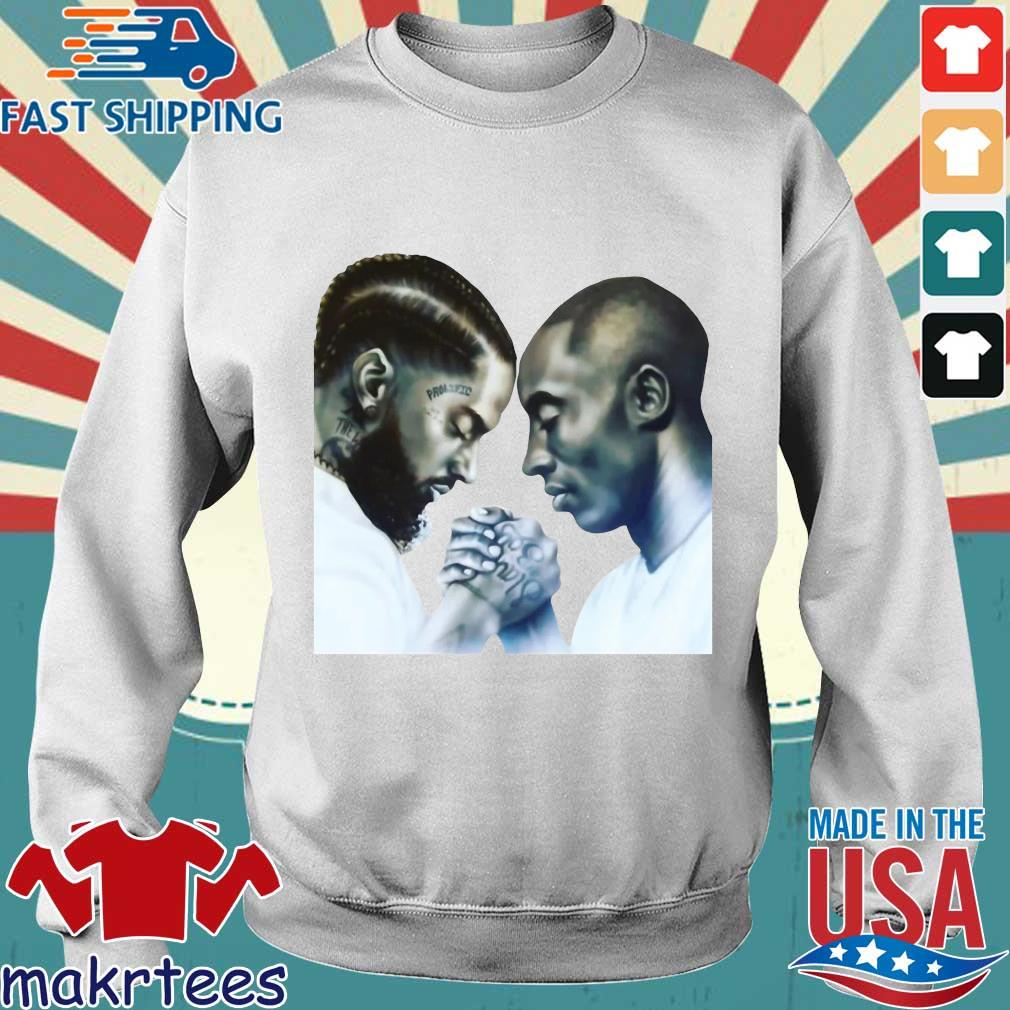 Nipsey Hussle And Kobe Bryant T-Shirt Sweater trang