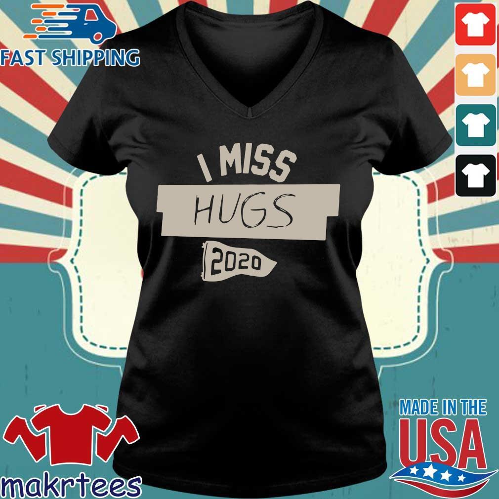 Nkotb House Party I Miss Hugs 2020 Shirt Ladies V-neck den