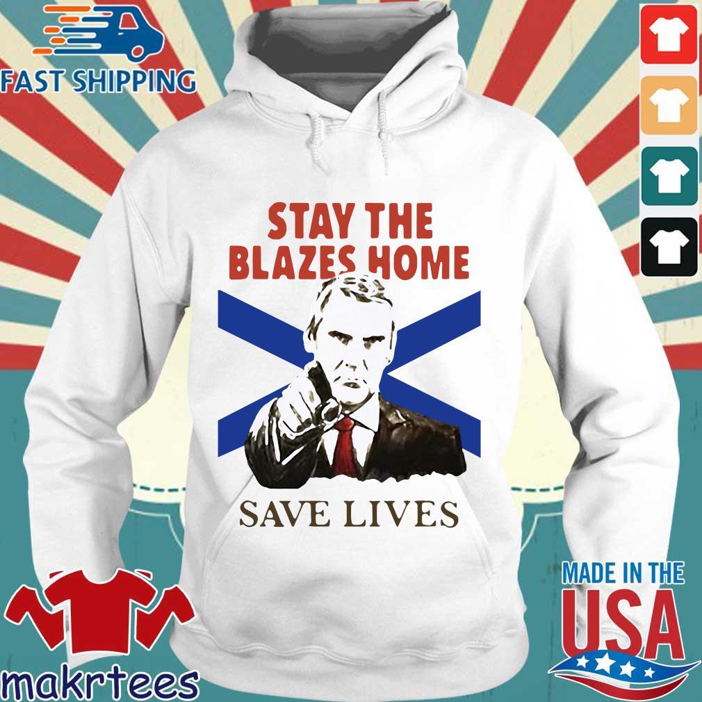 Nova Scotians Stay The Blazes Home Save Lives Covid-19 2020 Shirt Hoodie trang