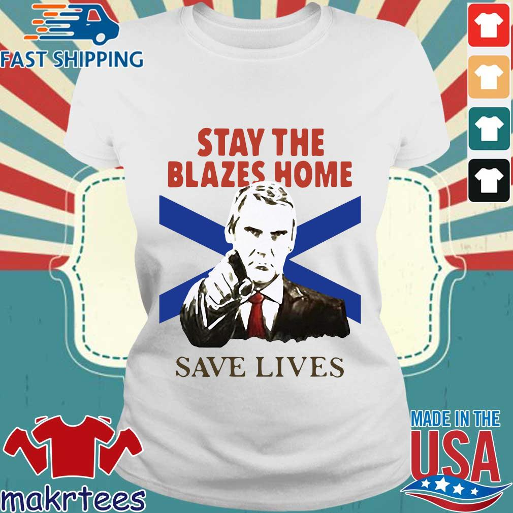 Nova Scotians Stay The Blazes Home Save Lives Covid-19 2020 Shirt Ladies trang
