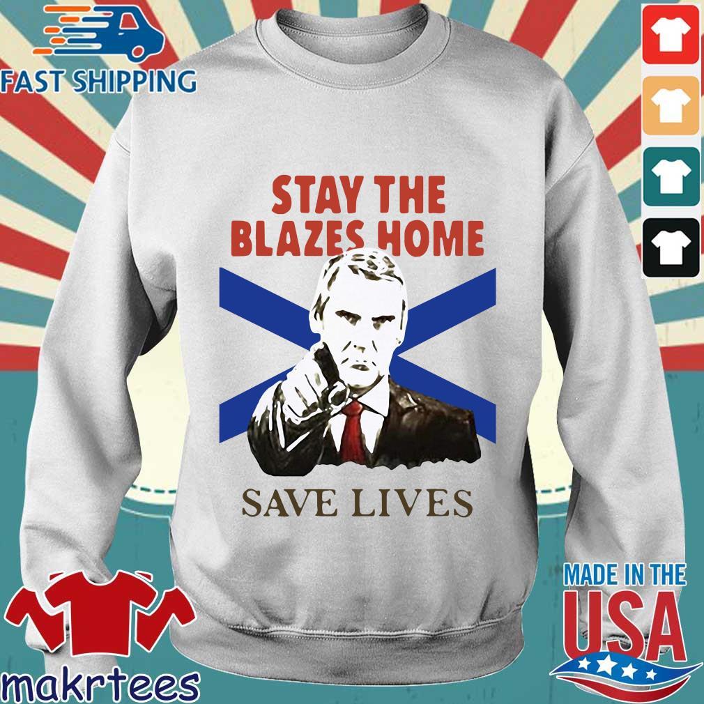 Nova Scotians Stay The Blazes Home Save Lives Covid-19 2020 Shirt Sweater trang