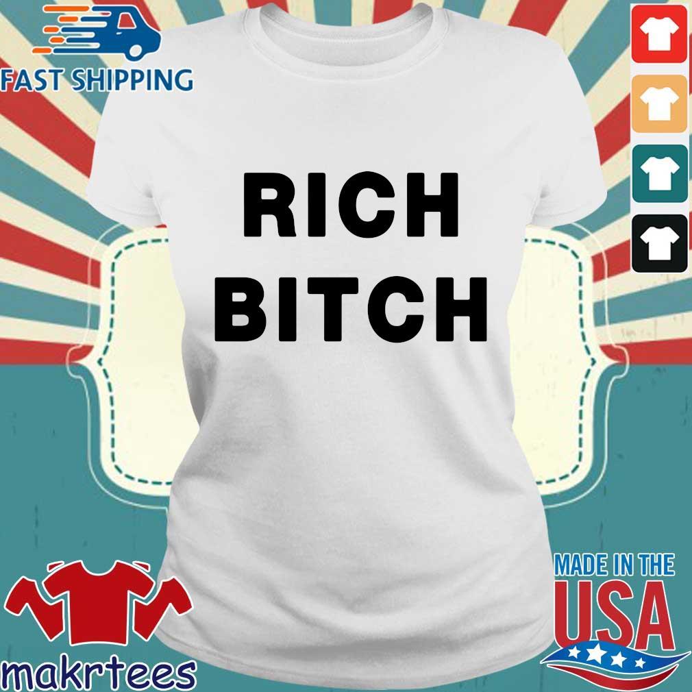 Omer Simpson Rich Bitch Shirt Ladies trang