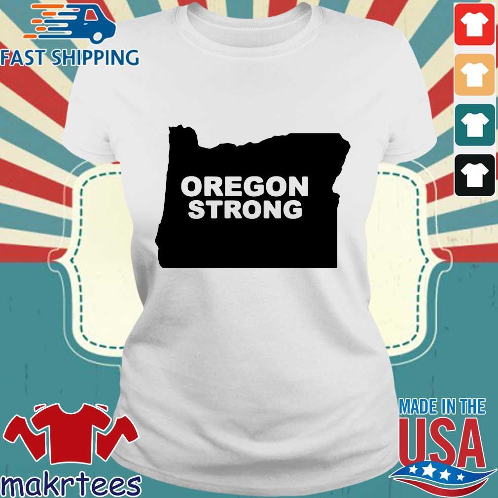 Oregon Strong 2020 T-s Ladies trang