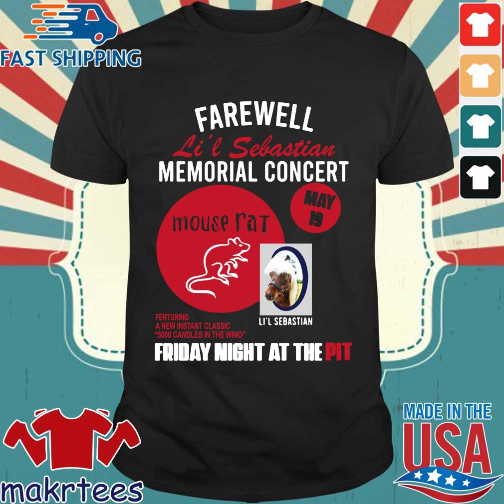 Parks And Recreation Farewell Li'l Sebastian Memorial Concert Shirt