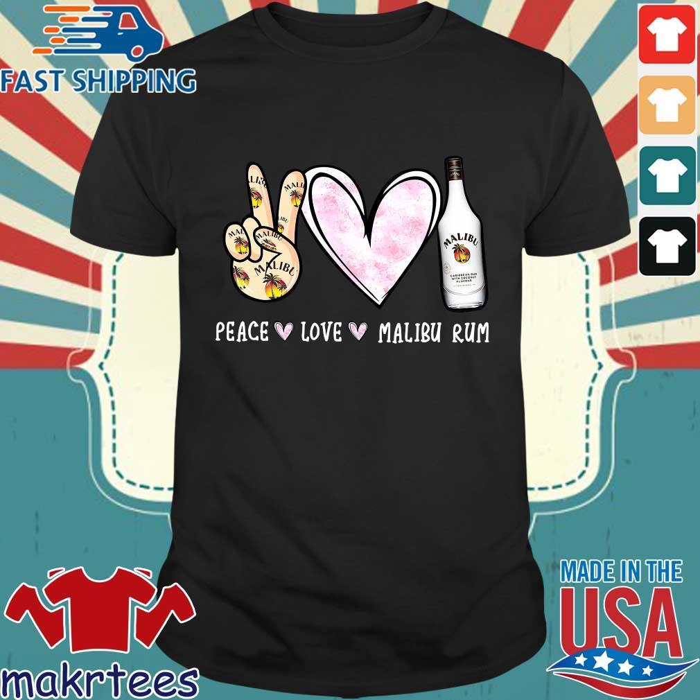 Peace Love Malibu Rum Shirt