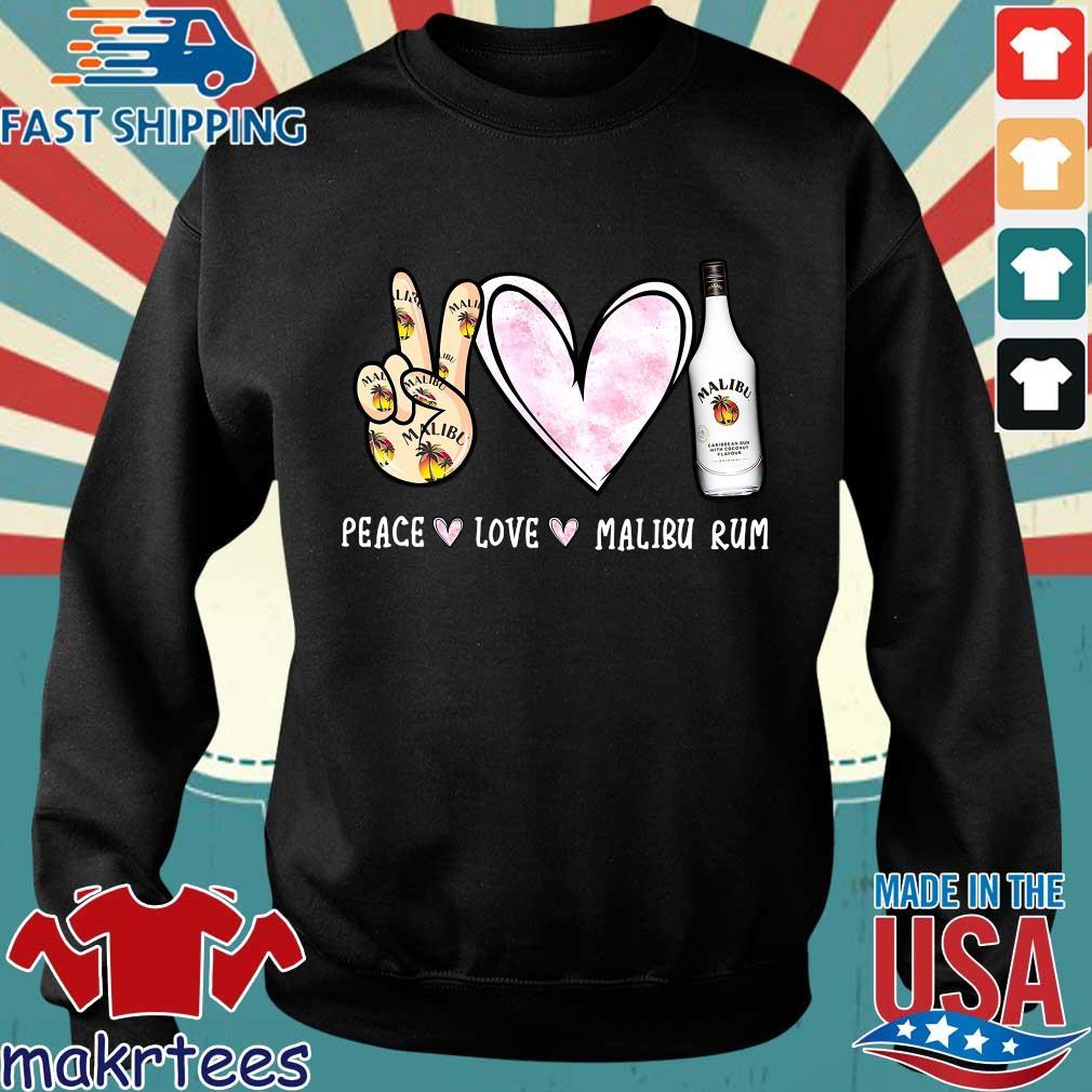Peace Love Malibu Rum Shirt Sweater den