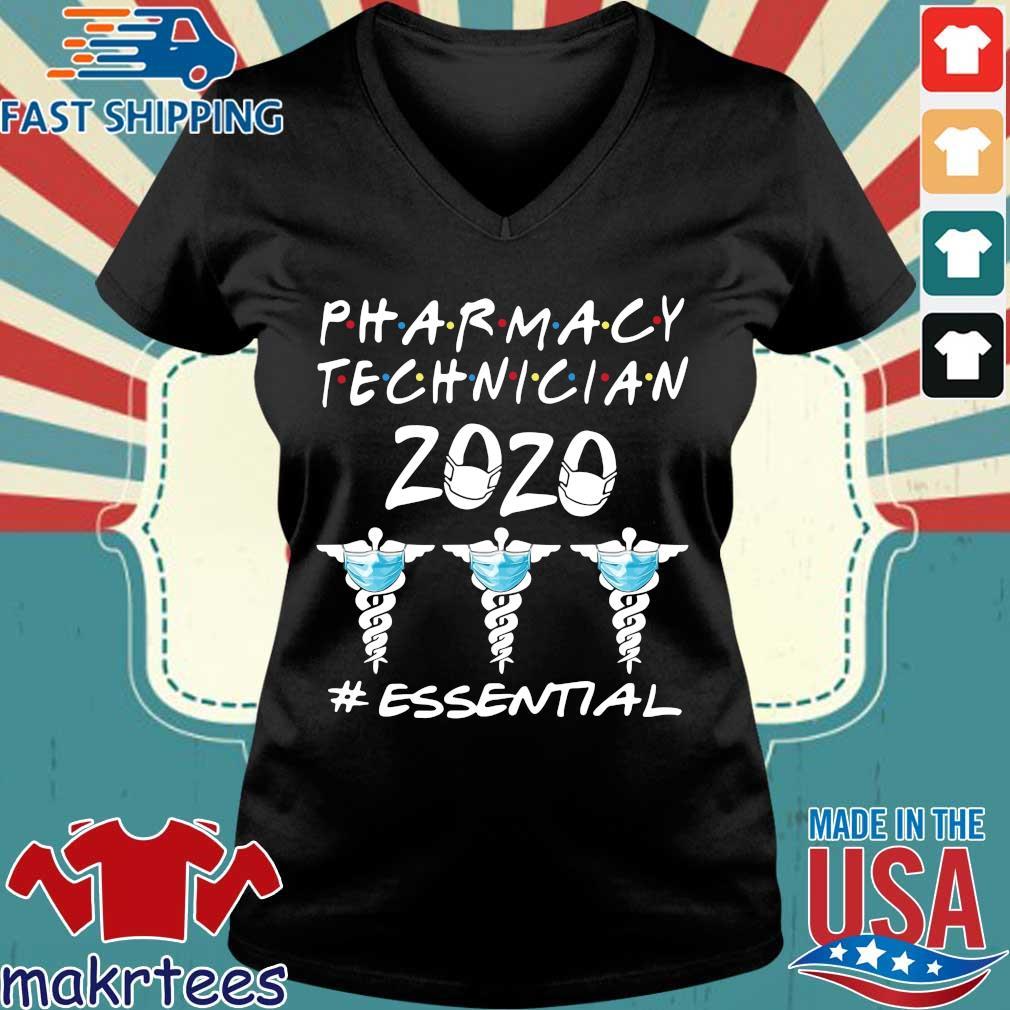 Pharmacy Technician 2020 #essential Shirt Ladies V-neck den