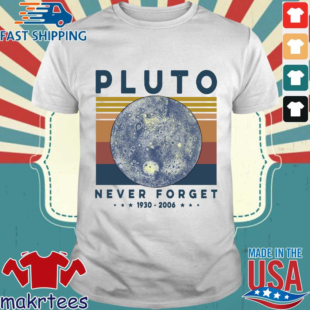 Pluto Never Forget 1930 2006 Vintage Shirt