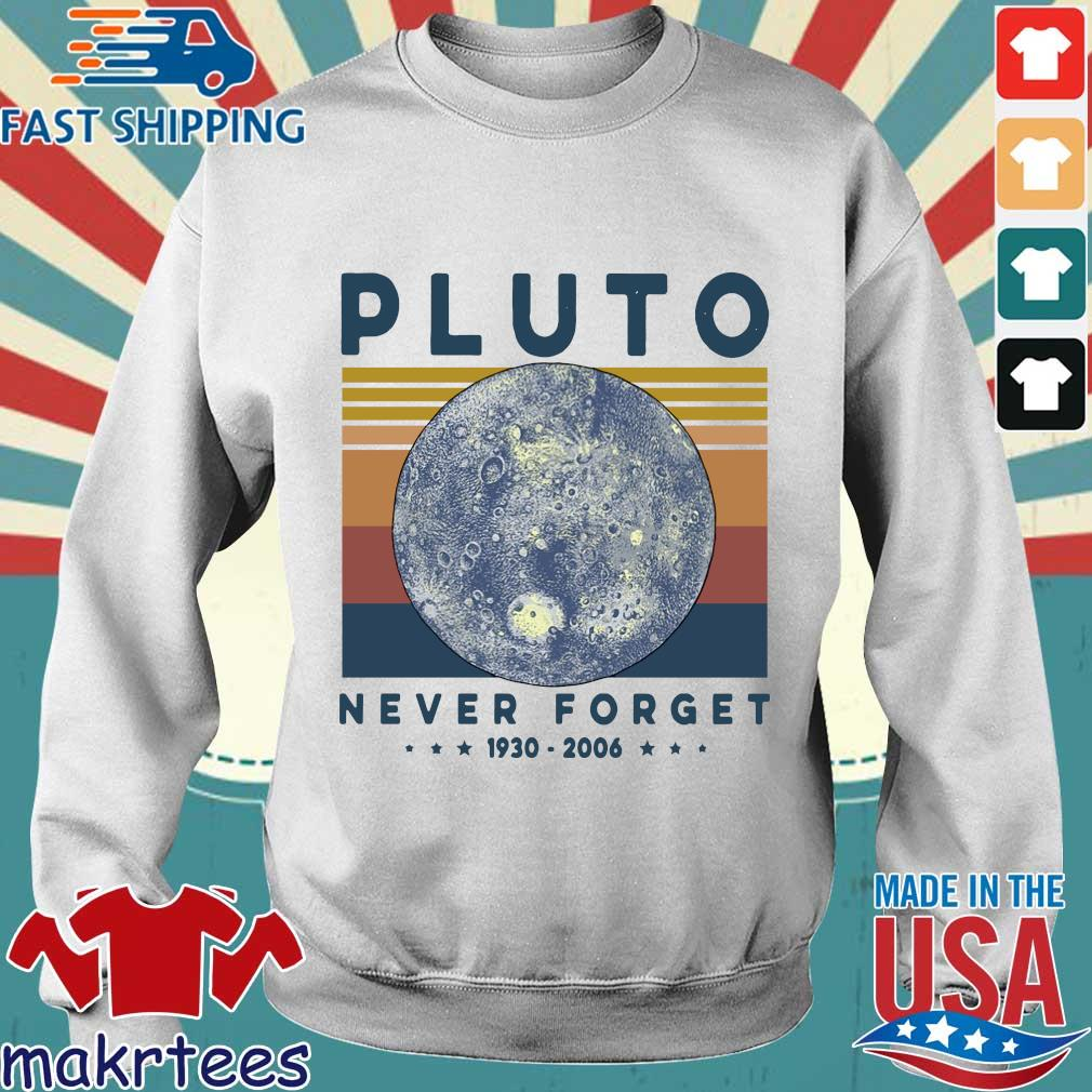 Pluto Never Forget 1930 2006 Vintage Shirt Sweater trang
