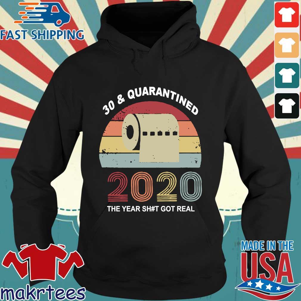 Quarantine Birthday 2020 Toilet Paper Vintage Shirts Hoodie den