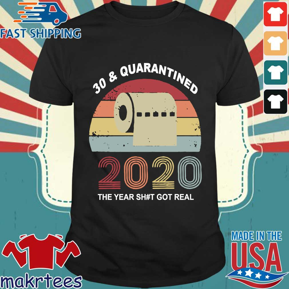 Quarantine Birthday 2020 Toilet Paper Vintage Shirts