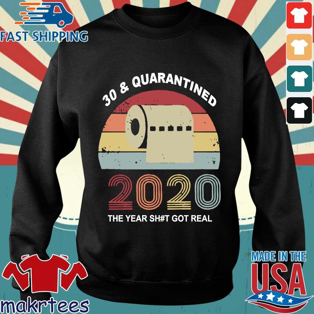 Quarantine Birthday 2020 Toilet Paper Vintage Shirts Sweater den