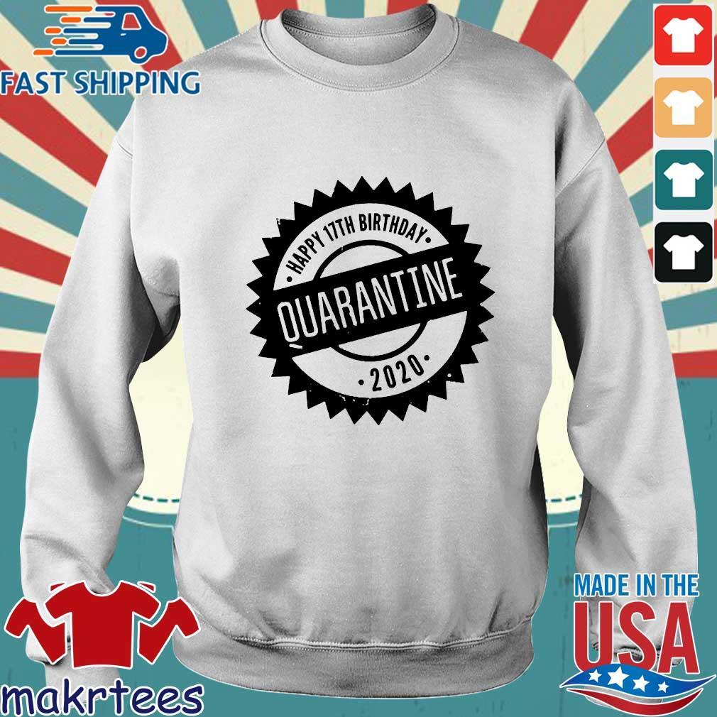 Quarantine Happy Birthday Custom Age Shirt Sweater trang