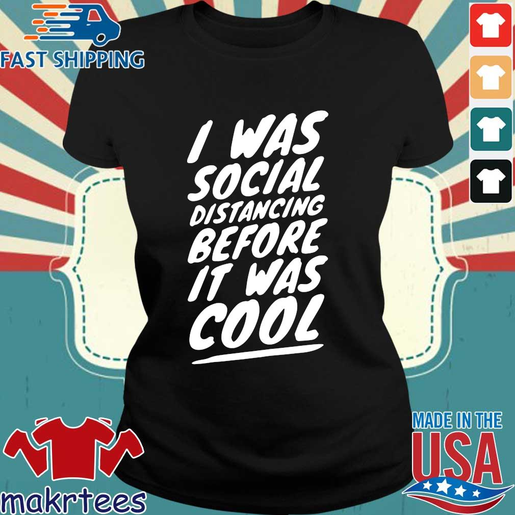 Quarantine Social Distancing Introvert Isolation 2020 Shirts Ladies den