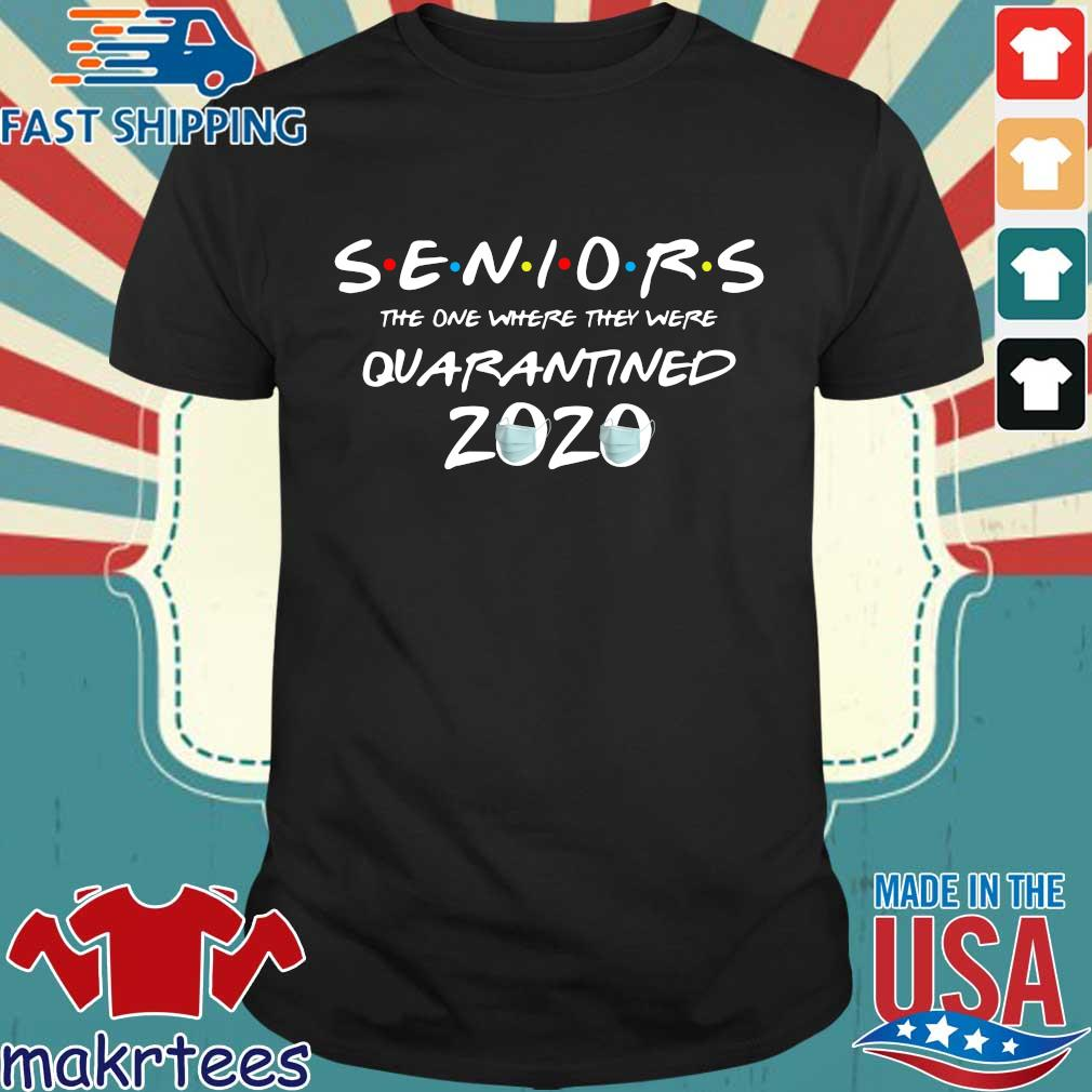 Quarantine Toilet paper Tee Class of 2020 Graduation Senior Tee Shirt