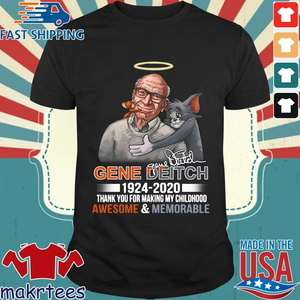 R.i.p Gene Deitch Father Of Tom _ Jerry 1924-2020 Thank You For Making My Childhood Shirt