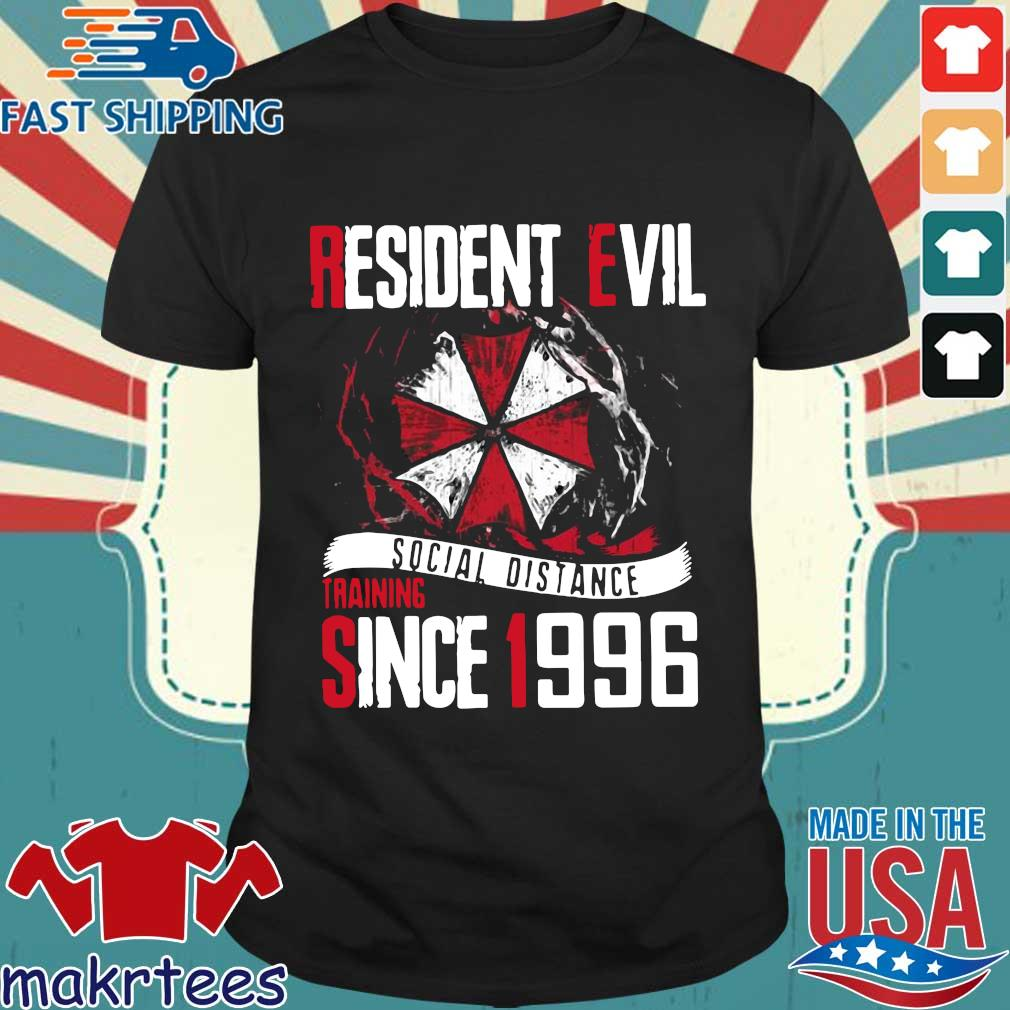 Resident Evil Social Distance Training Since 1996 T-shirt